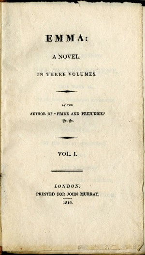 First Edition Title Page