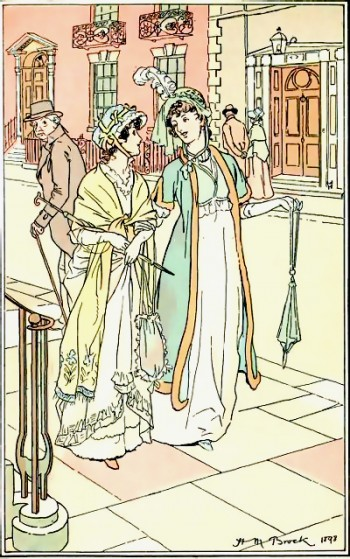 Illustration from Northanger Abbey